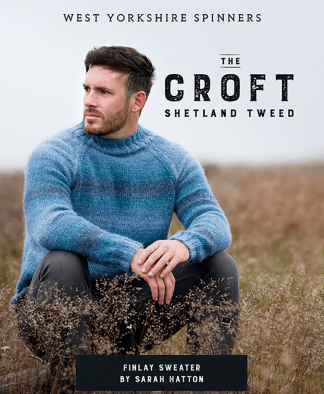 West Yorkshire Spinners The Croft Wild Shetland Finlay Sweater Pattern