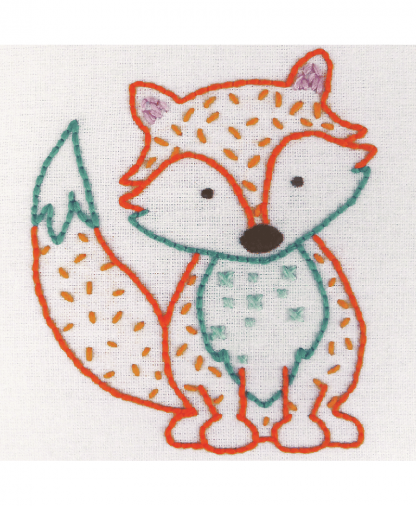Anchor 1st Kit - Freestyle Embroidery - Fox (50000)