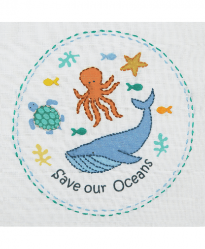 Anchor 1st Kit - Freestyle Embroidery - Save Our Seas (50002)