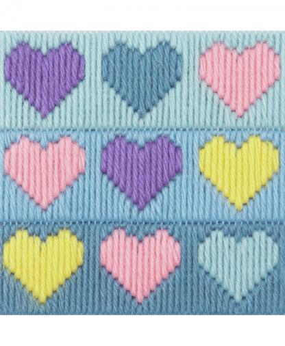 Anchor 1st Kit - Long Stitch - Hearts (30022)