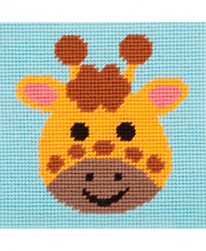 Anchor 1st Kit - Needlepoint Tapestry - Curious Giraffe (20032)