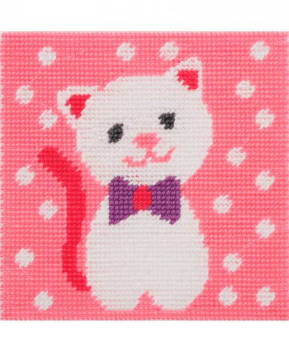 Anchor 1st Kit - Needlepoint Tapestry - Cute Kitty (20021)
