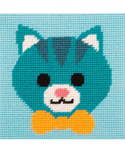 Anchor 1st Kit - Needlepoint Tapestry - Friendly Cat (20030)
