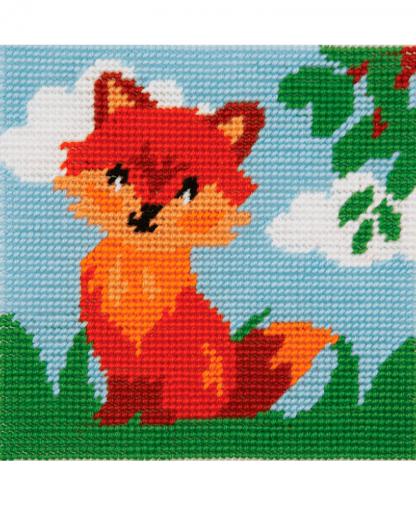 Anchor 1st Kit - Needlepoint Tapestry - Friendly Fox (20024)