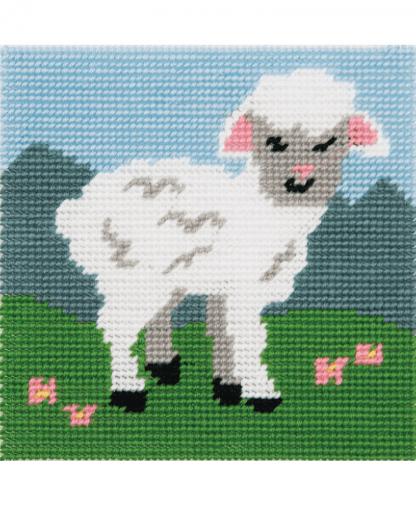 Anchor 1st Kit - Needlepoint Tapestry - Little Lamb (20025)
