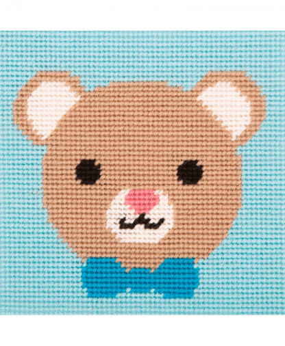 Anchor 1st Kit - Needlepoint Tapestry - Loveable Bear (20031)