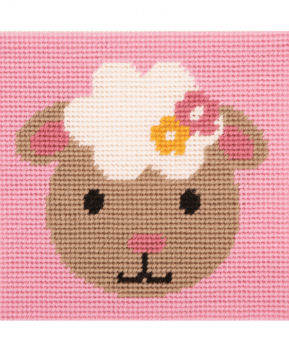 Anchor 1st Kit - Needlepoint Tapestry - Smiling Lamb (20028)