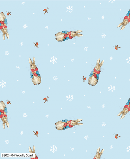 Craft Cotton Co - Peter Rabbit Christmas Traditions - Woolly Scarf (2802-04)