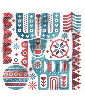 My Cross Stitch - Scandi Reindeer (LHCS01)