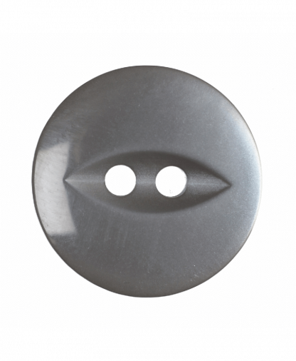 Round Fisheye Button - 30 Lignes (19mm) - Grey (G033930\31)