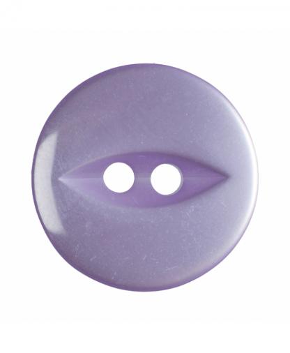 Round Fisheye Button - 30 Lignes (19mm) - Lilac (G033930\11)