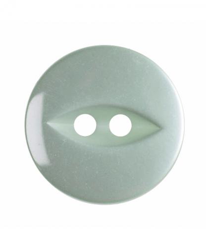 Round Fisheye Button - 30 Lignes (19mm) - Pale Teal (G033930\37)