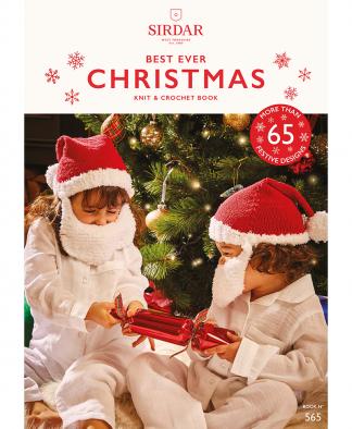Sirdar 565 Best Ever Christmas Knitting and Crochet Pattern Book