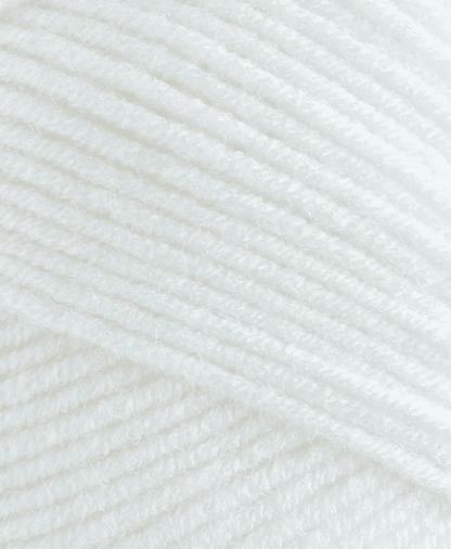 Sirdar Hayfield Soft Twist DK - White (250) - 100g