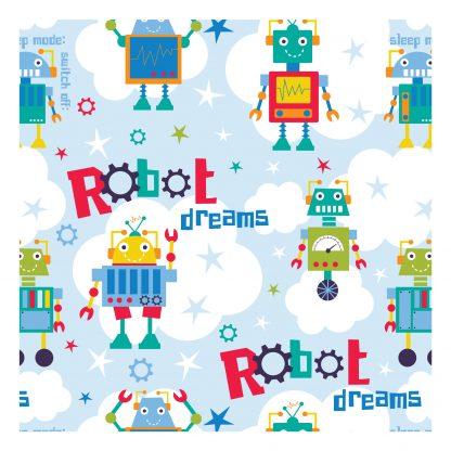 Craft Cotton Co - Robot Dreams - Clouds