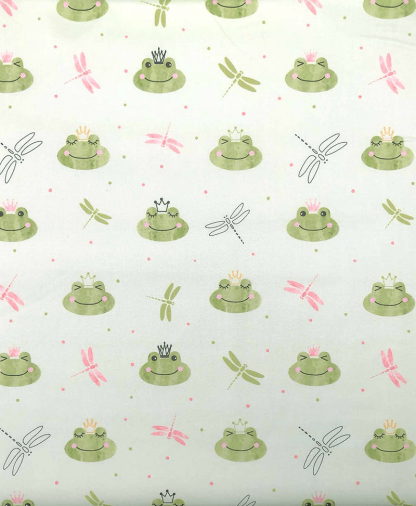Craft Cotton Co - Animals Delight - Frogs