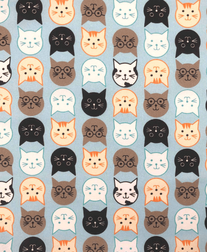 Craft Cotton Co - Animals Delight - Cats