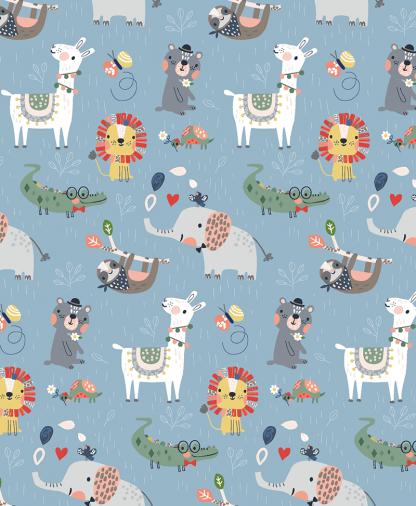 Craft Cotton Co - Wild About You - Wild Animals