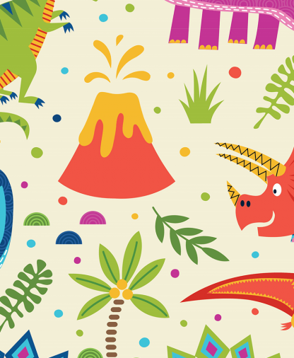 Craft Cotton Co - Dino World - Fabric Collection