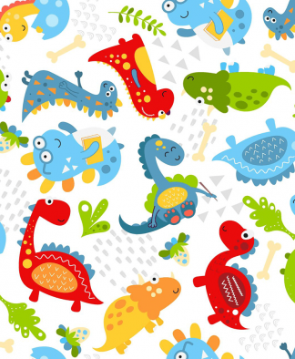 Craft Cotton Co - Little Dino - Fabric Collection