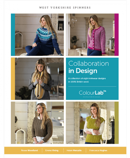 West Yorkshire Spinners ColourLab DK Collaboration in Design Pattern Book