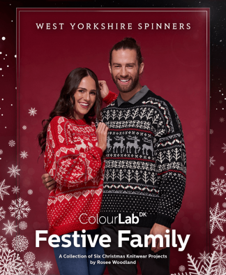 West Yorkshire Spinners ColourLab DK Festive Family Pattern Book