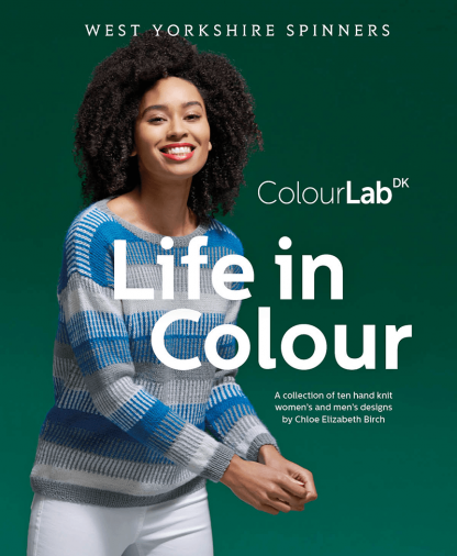 West Yorkshire Spinners ColourLab DK Life in Colour Pattern Book