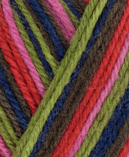 West Yorkshire Spinners ColourLab DK - Zandra Rhodes - Forest Stripes (1032) - 100g