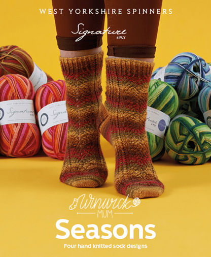 West Yorkshire Spinners Signature 4 Ply - Winwick Mum Seasons Sock Pattern Collection
